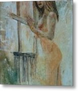 Young Girl 57905062 Metal Print