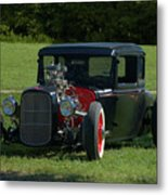 1930 Ford Coupe Hot Rod Metal Print