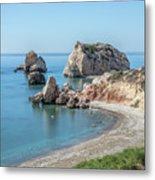 Aphrodite's Rock - Cyprus Metal Print