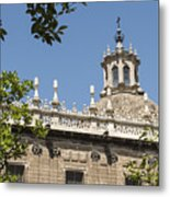 Cathedral Of Seville - Seville Spain Metal Print