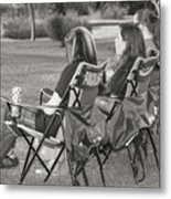 Concert Audience Metal Print