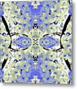 Floral Mural Metal Print