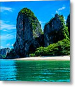 Krabi Beach 2 Metal Print