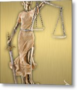 Law Office Collection Metal Print