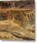Moonland Ladakh Jammu And Kashmir India Metal Print