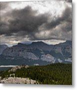 Mount Black Rock Metal Print