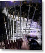 10 Of Swords Metal Print