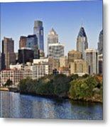 Philadelphia Skyline Metal Print
