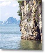Picturesque Sea Landscape. Ha Long Bay, Vietnam Metal Print