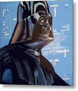 Star Wars 3 Poster Metal Print