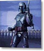 Star Wars Episode 2 Poster Metal Print