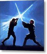 Star Wars Episode 3 Art Metal Print