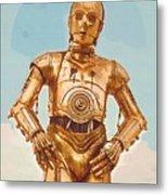 Star Wars Old Poster Metal Print
