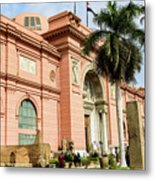 Horse 2 - The Egyptian Museum Of Antiquities - Cairo Egypt Metal Print
