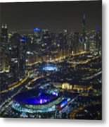 The Grateful Dead At Soldier Field Aerial Photo Metal Print