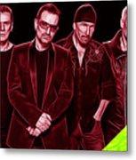 U2 Collection Metal Print