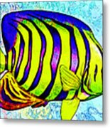 Underwater. Fish. Metal Print