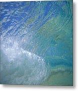 Underwater Wave Metal Print