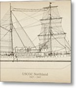 U.s. Coast Guard Cutter Northland Metal Print
