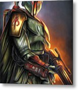 Video Star Wars Poster Metal Print