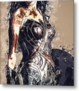 Wonder Woman Metal Print