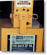 100 Days Of Oil Metal Print