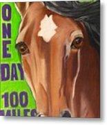 100 Mile Horse Metal Print