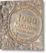 1000 Million Years Ago Metal Print