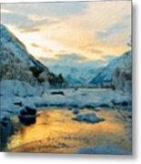 Nature Landscapes Prints Metal Print