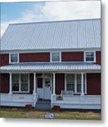 108 Mile Road House Metal Print