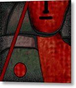 109  Minimalist Portrait .v.. Metal Print