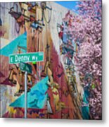 10th And Denny Metal Print