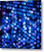 Abstract Lights Metal Print