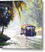 Backwaters Kerala - India Metal Print