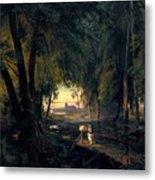 Forest Path Near Spandau Metal Print