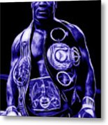Mike Tyson Collection Metal Print