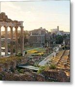 Rome Forum  Metal Print