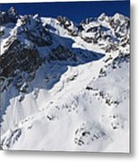 Serre Chevalier In The French Alps Metal Print