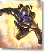 Star Wars Poster Art Metal Print
