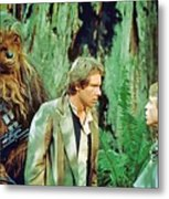 Star Wars Poster Art Metal Print