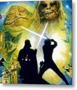 The Star Wars Art Metal Print