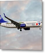 Travel Service Boeing 737-8cx Metal Print