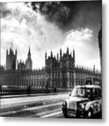 Westminster Bridge London Metal Print