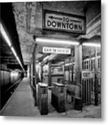 110th Street And Lenox Avenue Station - New York City Metal Print