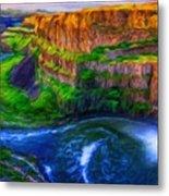 Nature New Landscape Metal Print
