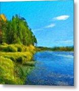 Nature Art Landscape Canvas Art Paintings Oil Metal Print