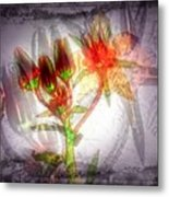 11305 Flower Abstract Series 03 #5 Metal Print