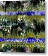 11362 Child Of The Universe With Lyrics By Barclay James Harvest Metal Print