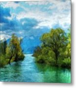 Nature New Landscape Metal Print