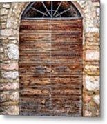1165 Assisi Italy Metal Print